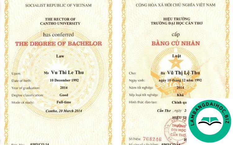 Làm bằng đại học Luật TPHCM – Ngành lương cao